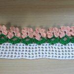 Flower Border Crochet Pattern and Tutorial