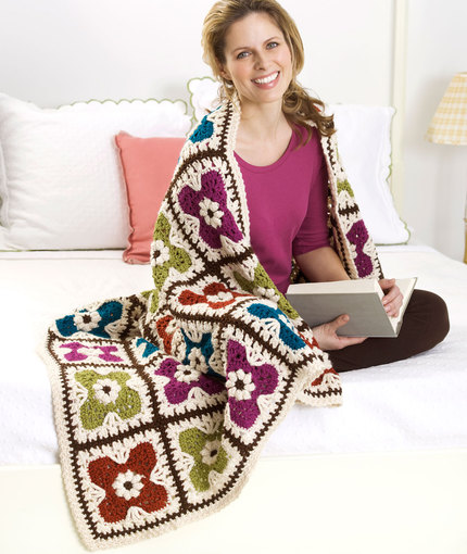 flower-tiles-afghan-free-crochet-pattern