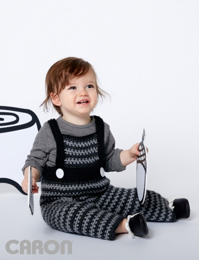 Funny Dungarees Free Intermediate Baby Crochet Overall Pattern