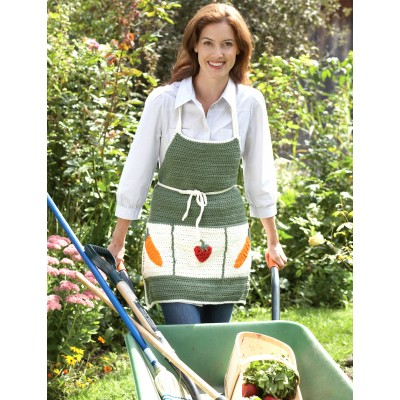Garden Apron Free Easy Women's Crochet Pattern