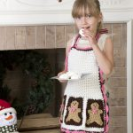 Gingerbread Man Apron Crochet Pattern