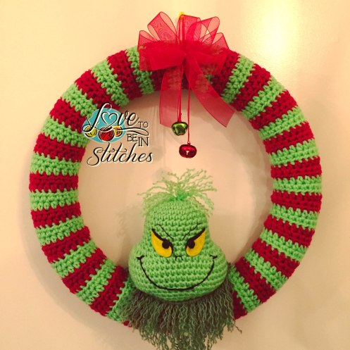 free Christmas wreath crochet patterns Archives ? Crochet ...