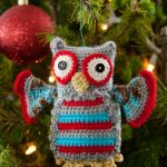 Hoot Owl Ornament Free Crochet Pattern