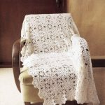 Lace Flower Cotton Blanket to Crochet