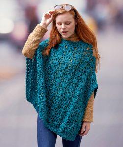 Lets Party Poncho Free Crochet Pattern Crochet Kingdom