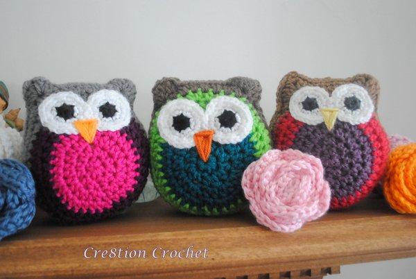 Little Guy Stuffed Owl Cuddly Free Crochet Pattern