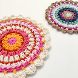 Loopy Mandala Crochet Pattern