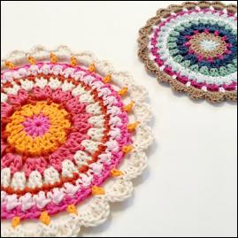 Loopy Mandala Crochet Pattern