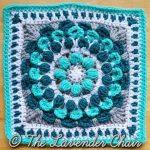 Marigold Mandala Crochet Square Pattern