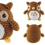 Mini Owl Amigurumi Free Crochet