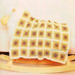 Modern Squares Baby Blanket Free Crochet