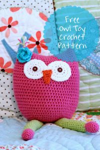 owl-toy-crochet-pattern