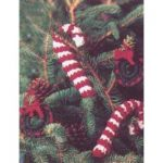 Patons Candy Canes and Wreaths Free Beginner Home Decor Crochet Pattern