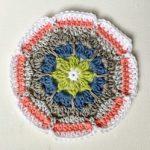 Periwinkle Coaster Free Crochet Pattern