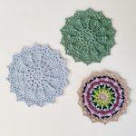 Puffs & Picots Mandala Crochet Pattern