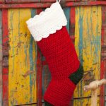 Quick & Easy Stocking Free Christmas Crochet Pattern