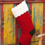 Quick & Easy Stocking Free Christmas Crochet Pattern