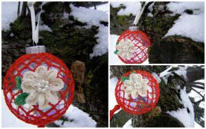 crochet ornament pattern