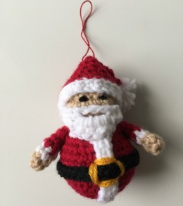 Santa Claus Ornament Free Crochet Pattern ⋆ Crochet Kingdom
