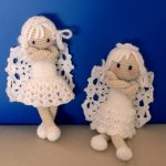 Silly little Angel Home Decor Crochet Pattern