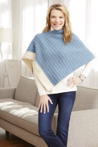 simple-two-color-poncho-free-crochet-pattern