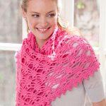Simply Alluring Shawl Free Crochet Pattern