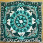 Starflower Mandala Crochet Square Pattern