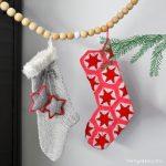 Stars Christmas Stockings Free Crochet Pattern