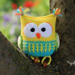The Owl Rattle Toy Pattern Free Crochet
