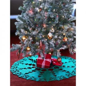 tree skirt free crochet pattern