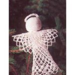 Tree-Topper Angel Free Easy Home Decor Crochet Pattern