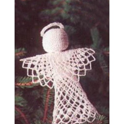 Tree-Topper Angel Free Easy Home Decor Crochet Pattern