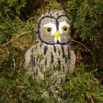 Twilight the Great Grey Owl Free Crochet Pattern