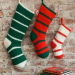 Waiting for Santa Stockings Free Crochet Pattern