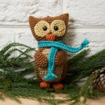 Wise Owl Ornament Free Crochet Pattern
