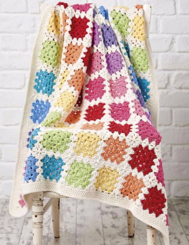 Granny Square Baby Blanket Crochet Pattern Archives Crochet