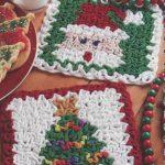 Holiday Hotpads Crochet