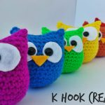 Crochet Owl Pattern To Make