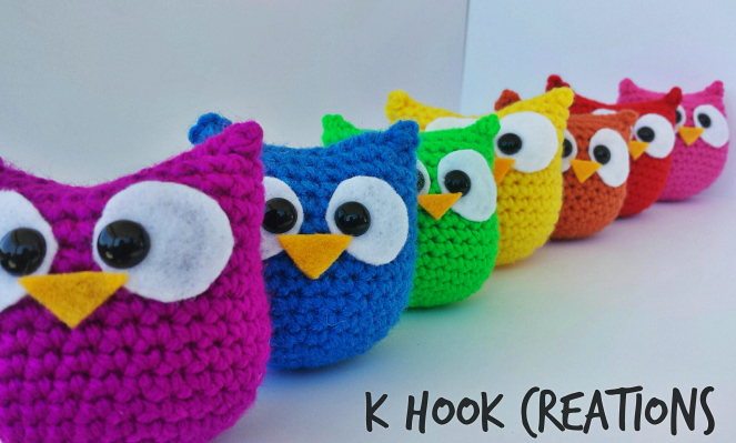 how to make owl crochet pattern
