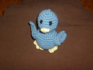 A Little Birdie Free Crochet Toy Pattern