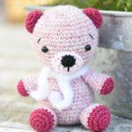 Alpaca Teddy Bear Free Amigurumi Crochet Pattern