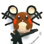 Amigurumi Dedenne Free Crochet Pattern