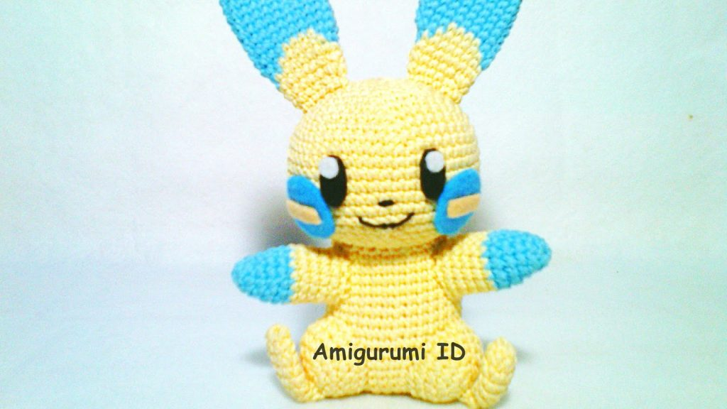 PIKACHU CROCHET PATTERN Detective Pikachu Amigurumi Pdf | Etsy | 576x1024