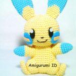 Amigurumi Minun Free Crochet Pattern