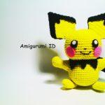 Amigurumi Pichu Free Crochet Pattern
