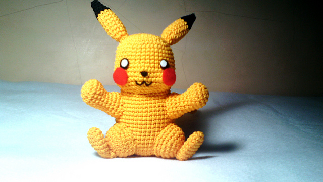 Crochet Amigurumi ** Pikachu ** Tutorial Part 2 - With Special ... | 360x640
