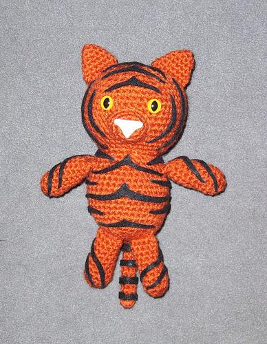 Amigurumi Tiger Crochet Pattern Crochet Kingdom