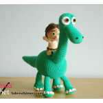 Arlo and Spot Crochet Pattern (Good Dinosaur)
