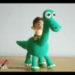 Arlo and Spot Crochet Pattern (Good Dinosaur)