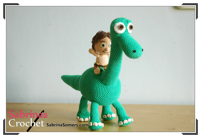 Arlo And Spot Crochet Pattern Good Dinosaur Crochet Kingdom